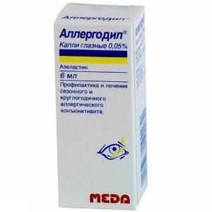 Allergodyl eye drops