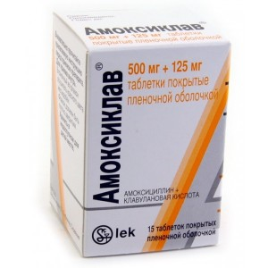 Amoxiclav: instructions for use