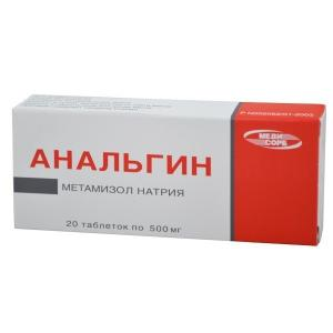 Analgin tablets instructions for use