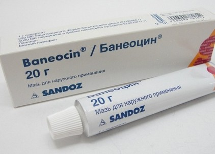 Baneocin ointment instructions for use